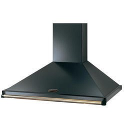 Rangemaster CLAHDC110BB 89270 Classic 110cm Chimney Cooker Hood Black and Brass