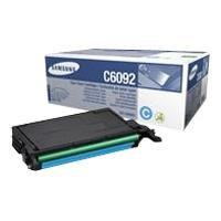 Samsung CLT-C6092S Cyan Toner Cartridge - Up to 7000 pages at 5% coverage