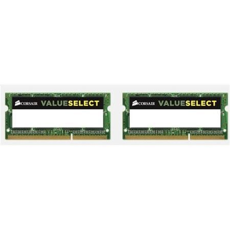Corsair 8GB 2x4GB Memory Kit 1600MHz PC3-12800 DDR3 SO-DIMM 1.5v Memory