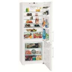 Liebherr CN5113 75cm wide Frost Free Freestanding Fridge Freezer - White