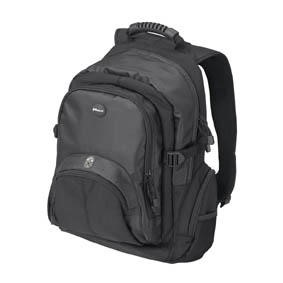 CN600 Targus 15.6 Laptop Backpack in Black & Grey