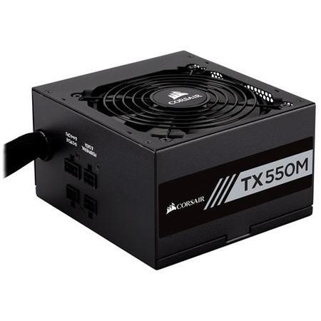 Corsair TX-m Series 550W 80 Plus Gold Hybrid Modular Power Supply