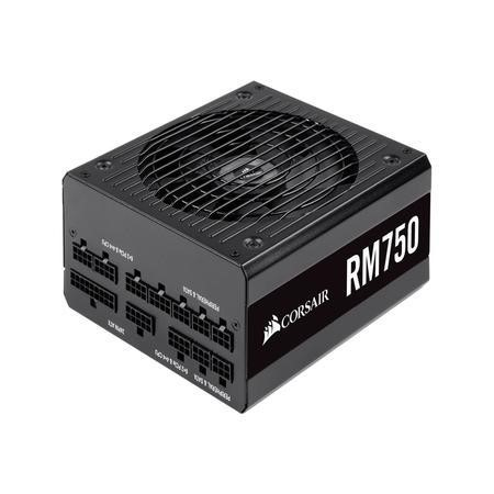 Box Open Corsair PSU 750W RM750 ATX MOD 80+G