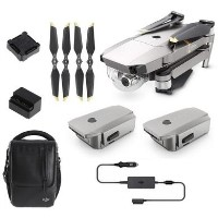 DJI Mavic Pro Platinum Drone with Fly More Combo
