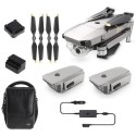 CP.PT.00000066.01 DJI Mavic Pro Platinum Drone with Fly More Combo