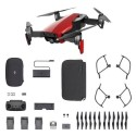 CP.PT.00000172.01 DJI Mavic Air Drone with Fly More Combo - Flame Red