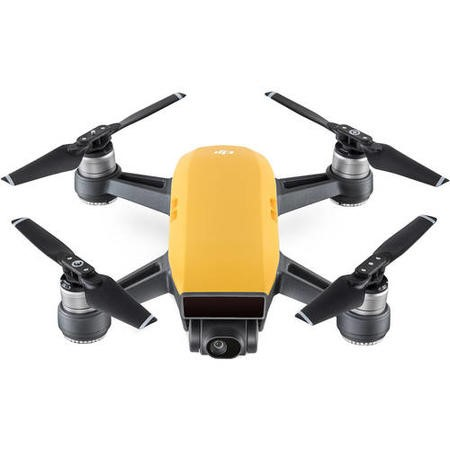 CP.PT.000747 DJI Spark Pocket Sized Drone - Sunrise Yellow with Free Soft Shell Case