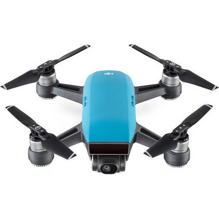 DJI Spark Pocket Sized Drone - Sky Blue with Free Soft Shell Case