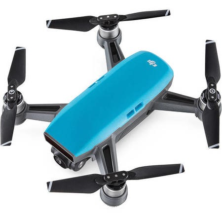 DJI Spark Pocket Sized Drone - Sky Blue with Free Soft Shell Case & Spark Conrtoller
