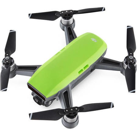DJI Spark Pocket Sized Drone - Meadow Green with Free Soft Shell Case & Spark Controller