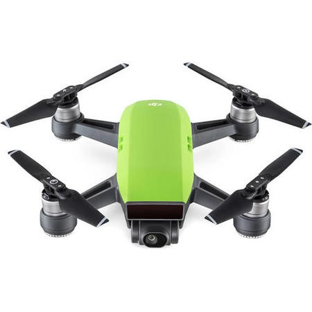 CP.PT.000749 DJI Spark Drone - Green with Free Soft Shell Case