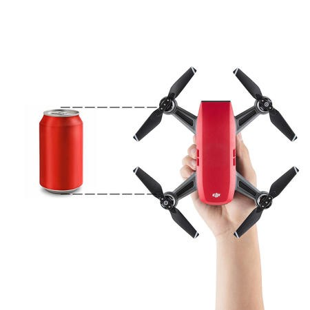 DJI Spark Drone - Red with Free Soft Shell Case
