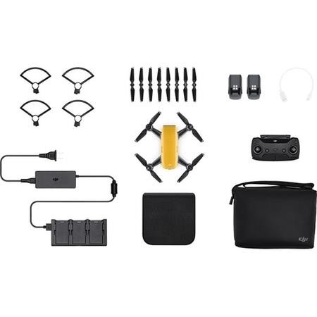 CP.PT.000905 DJI Spark Fly More Combo - Sunrise Yellow with Free Extra Battery