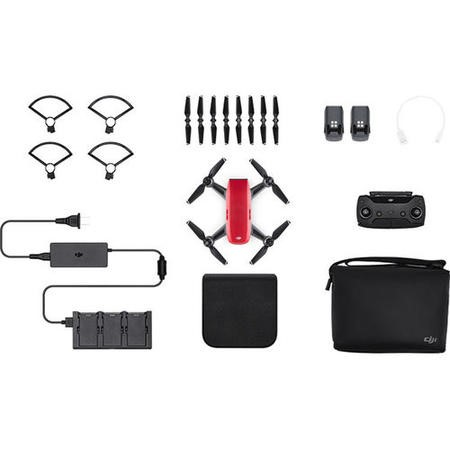 CP.PT.000906 DJI Spark Fly More Combo - Lava Red