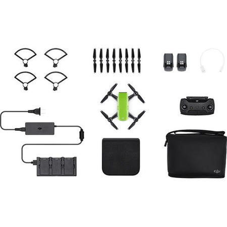 CP.PT.000908 DJI Spark Fly More Combo - Meadow Green with Free Extra Battery