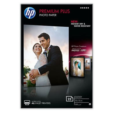 Hewlett Packard PREMIUM PLUS GLOSSY PHOTO PAPER