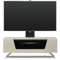 "Alphason CRO2-1000BKT-IV Chromium 2 TV Cabinet with Bracket for up to 50"" TVs - Ivory"