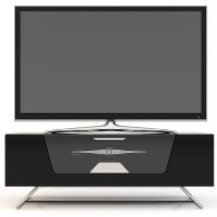 "Alphason CRO2-1000CB-BLK Chromium TV Stand for up to 50"" TVs - Black"