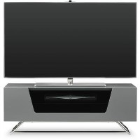 "Alphason CRO2-1000CB-GR Chromium 2 TV Stand for up to 50"" TVs - Grey"