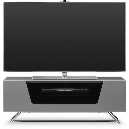 Alphason CRO2-1000CB-GR Chromium 1000 Grey TV Stand
