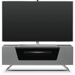 Alphason Chromium high gloss Grey TV Cabinet