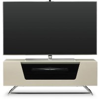 "Alphason CRO2-1000CB-IVO Chromium 2 TV Stand for up to 50"" TVs - Ivory"