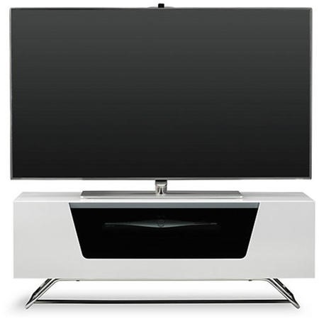 "Alphason CRO2-1000CB-WHT Chromium 2 TV Cabinet for up to 50"" TVs - White"