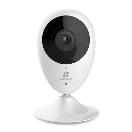CS-CV206-C0-1A1WFR EZVIZ Mini O C2C Indoor 720p Smart Wi-Fi Camera - Works with Amazon Alexa & Google Assistant IFTTT