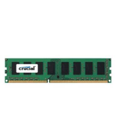 Crucial 16GB - DDR3 - 1600MHz - DIMM 240-pin