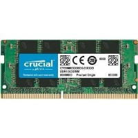 Crucial 16GB DDR4 2666MHz Non-ECC SO-DIMM Laptop Memory