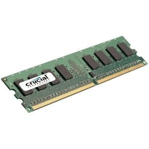Crucial 2GB DDR2 800MHz CL6 UDesktop Memory 240pin