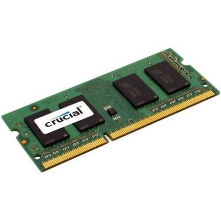 CT25664BF160B Crucial 2GB DDR3 1600MHz Non-ECC SO-DIMM Memory