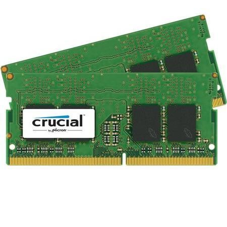 Crucial 32GB DDR4 2400MHz Non-ECC SO-DIMM 2 x 16GB Memory Kit