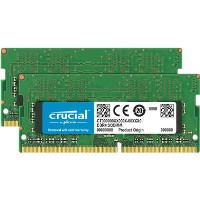 Crucial 32Gb DDR4 2666Mhz Non-ECC SO-DIMM 2 x 16 Laptop Memory Kit