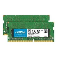 Crucial 32GB 3200MHz DDR4 Non-ECC SO-DIMM Laptop Memory Kit