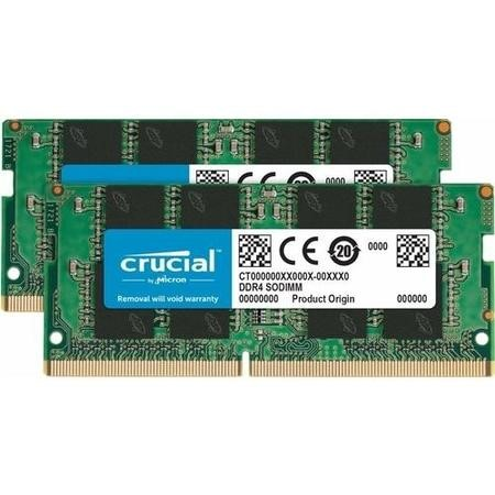 Crucial 16GB DDR4 2666MHz SO-DIMM Memory Kit