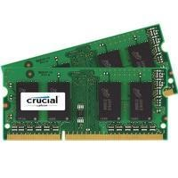 Crucial 4GB 2x2GB DDR3 1600MHz 1.35V Non-ECC SO-DIMM Memory Kit