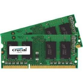 CT2KIT51264BF160B Crucial 8GB DDR3 1600MHz Non-ECC SO-DIMM 2 x 4GB Memory Kit