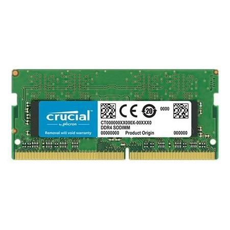 Crucial 4GB 3200MHz DDR4 Non-ECC SO-DIMM Laptop Memory