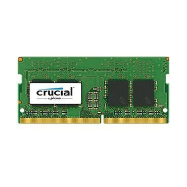 Crucial 4GB DDR4 2133 MT/s PC4-17000 CL15 SR x8 Unbuffered SODIMM 260pin