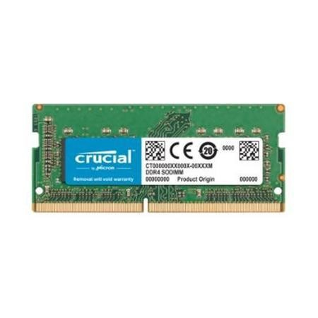 Crucial 2400Mhz 8GB DDR4 Non-ECC SO-DIMM Laptop Memory