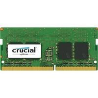 Crucial - DDR4 - 8 GB - SO-DIMM 260-pin - 2400 MHz / PC4-19200 - CL17 - 1.2 V - unbuffered - non-ECC