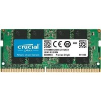 Crucial 8GB DDR4 2666MHz SODIMM - Laptop Memory