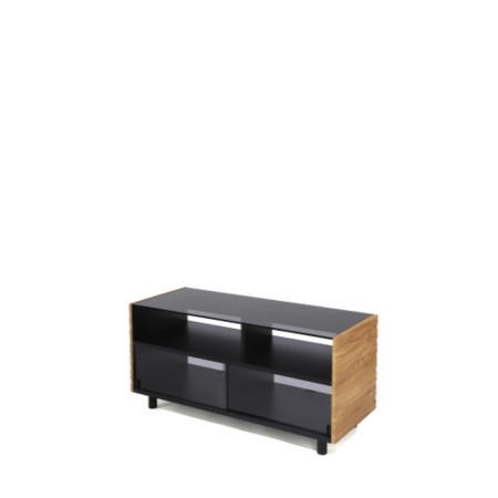 Off The Wall Contour 1300 Walnut TV Stand - Up to 55 Inch