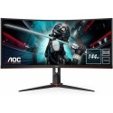 "A1/CU34G2X/BK Refurbished AOC CU34G2X 34"" UWQHD 1ms 144Hz Freesync Curved Gaming Monitor"