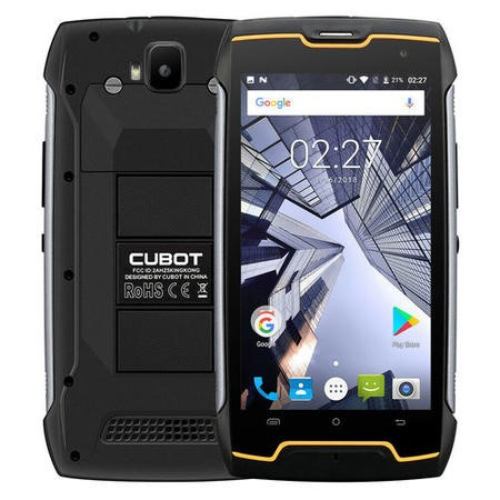 "CUB-KK-BLK Cubot King Kong Black 5.0"" 3G Dual SIM IP68 4400mAh Battery"