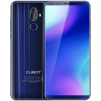 "Cubot X18 Plus Blue 5.99"" 64GB 4G Dual SIM Unlocked & SIM Free"