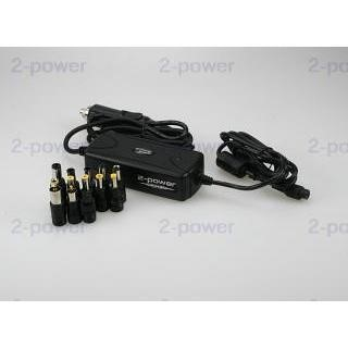 2-Power power adapter - car / airplane - 72 Watt