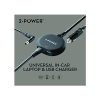 2 Power Universal 90W Laptop In-Car Charger