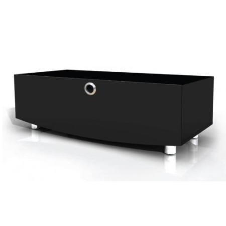 MDA Designs Curve 1000 Black TV Cabinet up to 50 inch